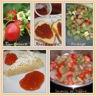 Confiture rhubarbe / fraise