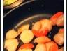 Coquilles St Jacques et leur fondue de poireaux
