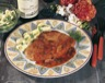 Plat principal: Côtelettes de porc panées sauce tomate