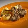 Plat moutons et agneaux: Côtes d'agneau marinées à l'estragon et fenouil grillés