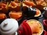 Crème brûlée au saumon et aux asperges verte et blanche
