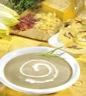 Potages et soupes: Crème de chicons et dentelles au fromage