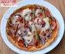 Crêpe-pizza au jambon, champignon et artichaut