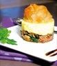 Plats de volailles: Croustillant de canard au pain d'épices