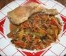 Cuisse de poulet aux épices pour guacamole et mélange asiatique