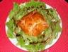Feuilletés saumon et noix de Saint-Jacques