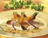Gibiers à plumes: Filets de faisan sauce au poivre vert