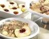 Plats de volailles: Filets de pintade aux lardons pommes au four