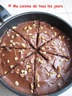 Gâteau au chocolat à la poêle et son glaçage au chocolat