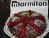 Gâteau d'anniversaire mousse chocolat-framboise
