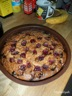 Gâteau moelleux aux cerises et chocolat blanc