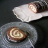 Gâteaux roulé chocolat meringue
