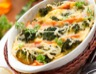 Gratin de saumon aux brocolis et aux pommes de terre