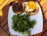 Burgers au veau et galette de pommes de terre (burger versaillais)