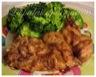 Hauts de cuisse de poulet grillés, marinés à la dijonnaise