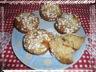 Muffins aux pommes et flocons d'avoine