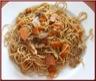 Nouilles chinoises sautées au poulet