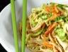 Nouilles sautées aux légumes et poulet (chine)