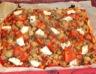 Pizza de la mer et chèvre