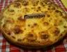 Pizza saumon chèvre