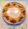 Pizza soleil au jambon