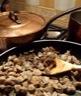 Champignons: Poêlée de champignons à la crème fraîche