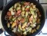 Poêlée de légumes (pommes de terre courgettes carottes champignons)