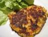 Galettes de pommes de terre au lards et aux légumes façon hollandaise