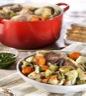 Plat principal: Pot-au-feu persillé (boeuf poulet agneau)