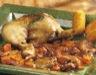 Plats de volailles: Poulet aux cèpes et au vin rouge