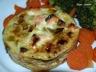 Quiche sans pâte aux poireaux et saumon frais (Companion ou pas)