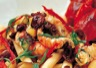 Poissons et crustacés: Ragoût d'écrevisses et mousserons