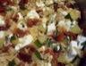 Risotto de courgettes aux tomates séchées