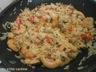 Riz biryani au poulet et crevettes