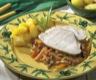 Plats de volailles: Rôti de dinde à l'émincé de carottes