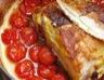 Rôti de porc à la moutarde et aux tomates cerises