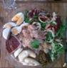 Salade au magret de canard et crotin de chèvre