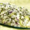 Salade aux poires et au bleu