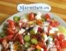 Salade composée aux pommes de terre et surimi