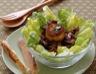 Salade de chèvres chauds