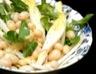 Salade de chicons mâche et haricots blancs (Belgique)