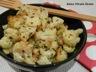 Salade de chou-fleur et pois chiche rôtis