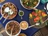Salade de lentilles vertes, radis et carottes ou comment faire le buzz avec un éventail de salades composées!