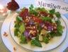 Salade de mâche aux magrets de canard
