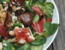 Salade de mâche champignons et canard