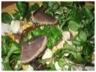 Salade de magret fumée et chèvre frais