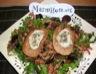 Salade de mesclun au chèvre chaud façon flo