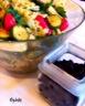 Salade de pâtes, courgettes, feta