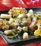 Salade de pommes de terre au jambon et asperges