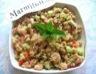 Salade de quinoa et fruits de mer